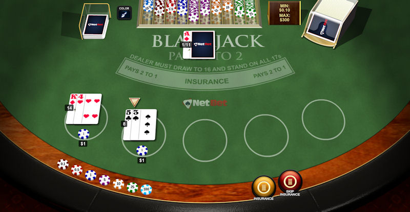 Blackjack Peek