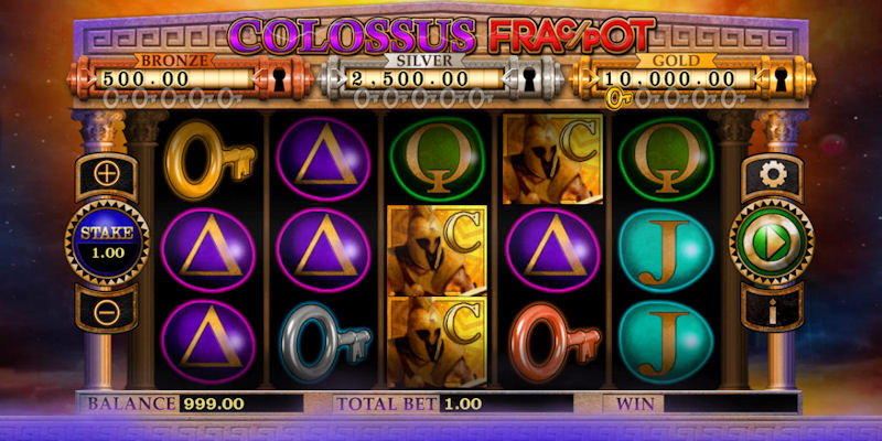 Colossus Fracpot Slot