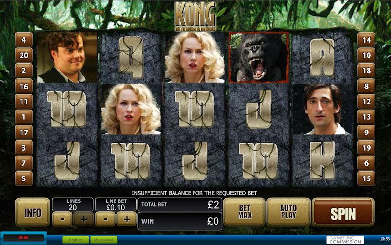 Kong The 8th Wonder Of The World Slot