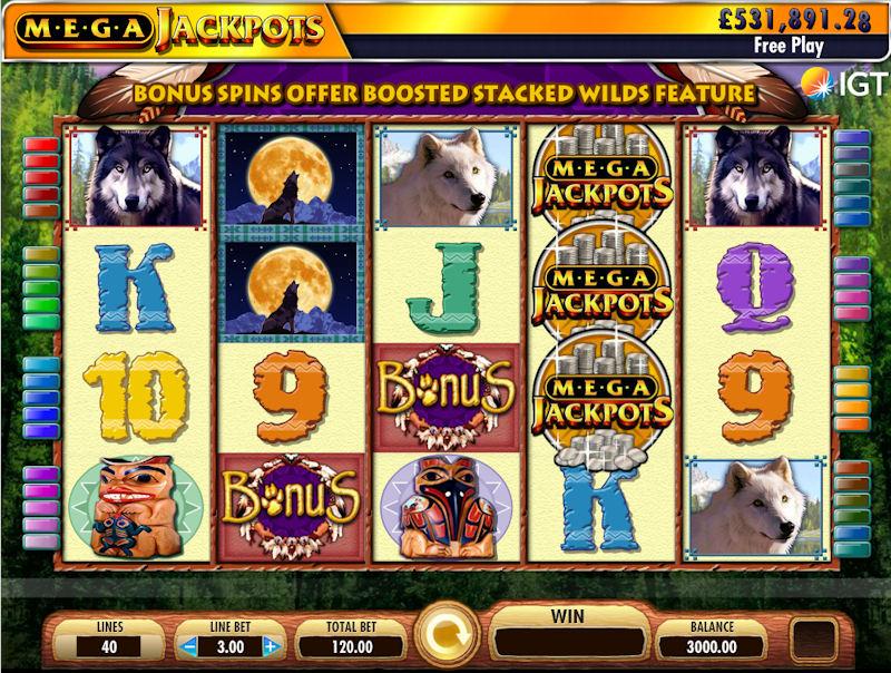 MegaJackpots Wolf Run Slot