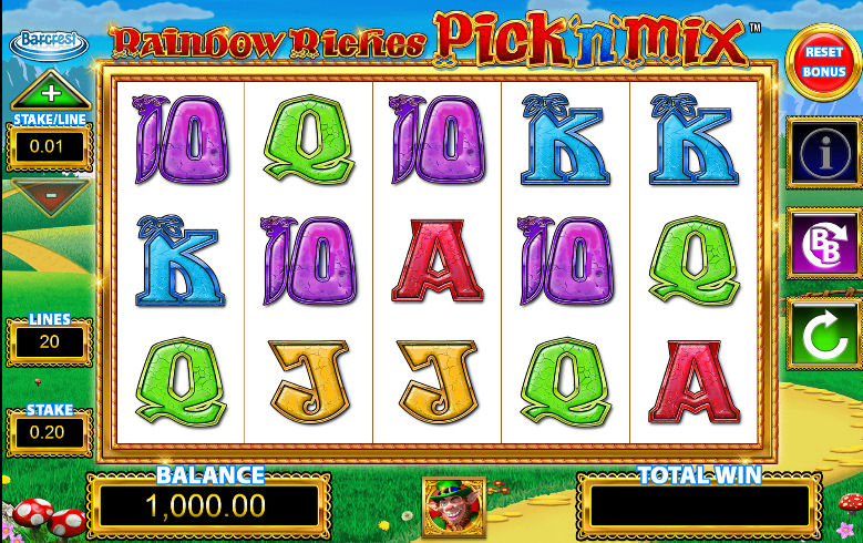 Rainbow Riches Pick n Mix Slot