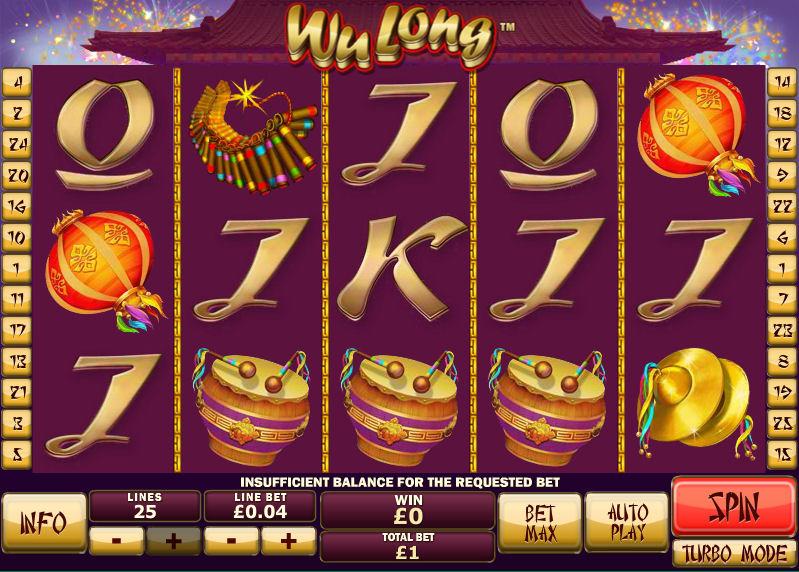 Wu Long Jackpot Slot