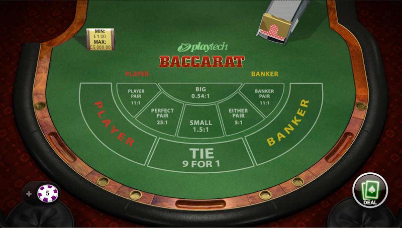 Playtech Baccarat