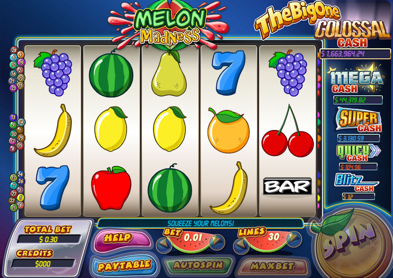 Melon Madness Slot