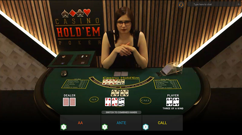 Playtech Live Casino Holdem